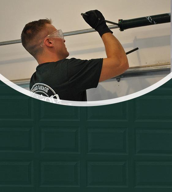 Garage spring repair mobile header