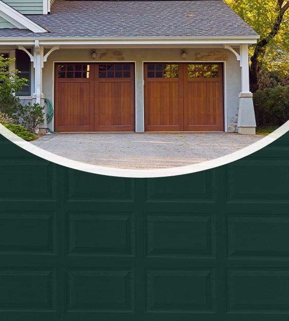 Garage doors mobile header